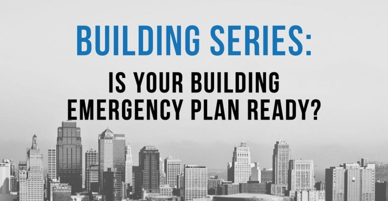 building manager emergency planning